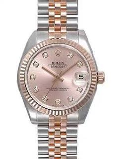 Rolex datejust rosegold classical women watch woman watches rose gold 36mm automatic