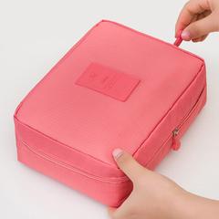 Make Up Bag Women Waterproof Cosmetic MakeUp Bag Travel Organizer Makeup Tool Watermelon red Free Size