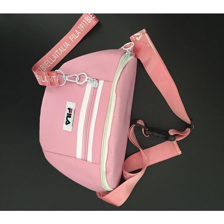 KPOP Fashion FILA Crossbody Casual Shoulder Bag Waist Bag For All ... 9949c7d611a24