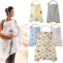 Muslin Breastfeeding Nursing Cover For Baby Shawl Cotton Apron Shawl Blanket Car other