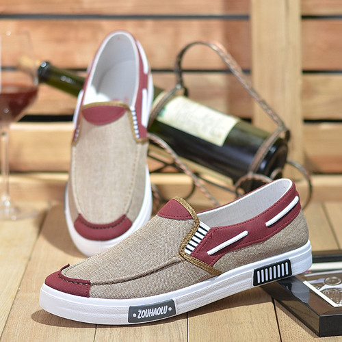 TOP SALEshoes men shoes loafers casual shoes mens shoes canvas shoes party shoes flat shoes sneakers coffee 42