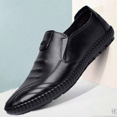 Men's business Pu shoes, formal shoes,work shoes, casual shoes, party shoes, gentleman's, handsome black 39 pu&plastic cement