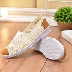 TOTO mesh shoes flat shoes girls shoes women shoes casual shoes sport shoes female shoes  sneakers white 36