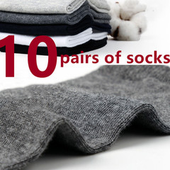 10 pairs of socks for men 5 colors business socks, formal shoes and socks random one one