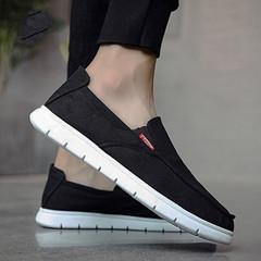 TOTO male shoes men shoes flat shoes  party shoes casual shoes canvas shoe fashion sneakers black 39