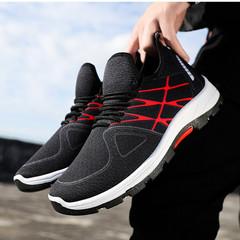 TOTO  shoes  men shoes mesh shoes flat shoes male shoes sport shoes casual shoes  fashion sneakers black 39