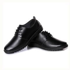 TOTO men shoes men flat shoes formal shoes party shoes casual shoes PU leather shoes black 39 pu