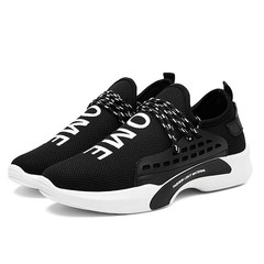 High-end men shoes on sale casual shoes sport shoes male shoes fashion sneakers black 39