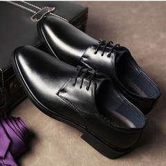 2019 men shoes formal men shoes leather shoes mens wear black shoes business shoes for men black 39 artificial pu