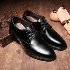 TOTO business wear shoes men shoes flat shoes formal shoes party shoes casual shoes PU leather shoes black 39 artificial pu