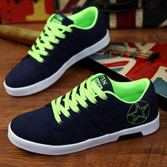 Limited time special offer casual shoes men shoes canvas shoes party shoes flat shoes green 40