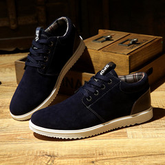 TOP shoes men shoes flat shoes formal shoes party shoes casual shoes sneakers leather shoes black&DARK BLUE 39