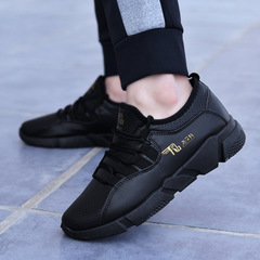 SUPPERshoes men shoes sport shoes casual shoes fashion sneakers mesh shoes flat shoes running shoes black 39