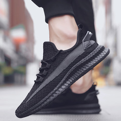 TOTOFIRE shoes men shoes mesh shoes flat shoes male shoes sport shoes casual shoes  fashion sneakers black 39