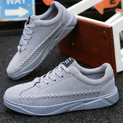 TOTOFIRE shoes men shoes mesh shoes flat shoes male shoes sport shoes casual shoes  fashion sneakers GREY 39
