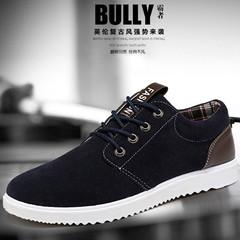 TOP shoes men shoes flat shoes formal shoes party shoes casual shoes sneakers leather shoes black&DARK BLUE 39