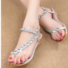 5 Anniversary Special Shoes women shoes heels shoes Sexy Sandals Water drill super beautiful SLIVER 35