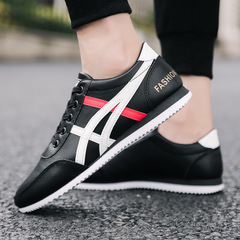 Limited time price casual shoes men shoes sport shoes flat shoes men shoes loafers fashion sneakers BLACK 39