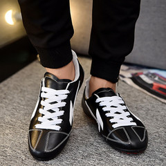 TOTO Shoes shoes men shoes loafers shoes flat shoes party shoes casual shoes fashion sneakers black&white 41