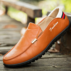 TOTO Doudou shoes flat shoes formal shoes party shoes casual shoes men shoes loafers MEN SHOES ORANGE 39