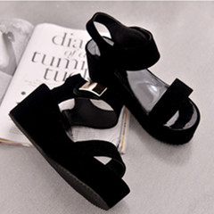 Beautiful male shoes women shoes wedges lady shoes heels women shoes heels party shoes wedding shoes black 35