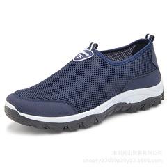 Ashoes men shoes mesh shoes flat shoes male shoes sport shoes casual shoes for men fashion sneakers blue 39