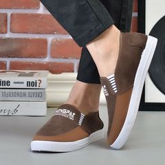 Special offer shoes men shoes loafers casual shoes men shoes canvas shoes party shoes flat shoes brown 39