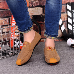 Limited time special offer canvas shoes casual shoes men shoes loafers shoes flat shoes sneakers brown 39