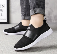 TOTO casual shoes men shoes loafers mesh shoes party shoes flat shoes sport shoes fashion sneakers black 39