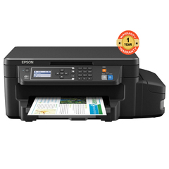 Epson L382 - InkJet Color Printer & Scanner black normal