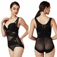 Slimming Bodysuits Slim Body Shaper Hot Shapers Waist Trainer Corset modeling strap Slimming Belt black m