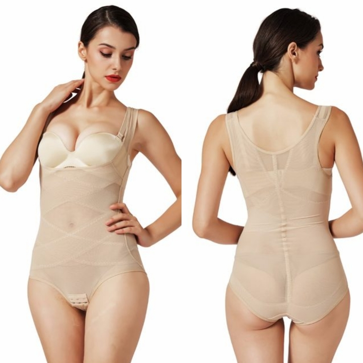 Slimming Bodysuits Slim Body Shaper Hot Shapers Waist Trainer Corset modeling strap Slimming Belt apricot 4xl