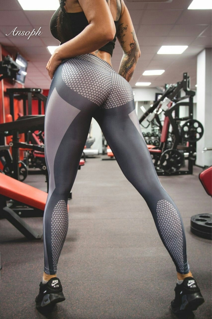 Women Sports Running Sportswear Stretchy Fitness Leggings Seamless Tummy Control Gym Tights Pants one color xl