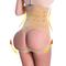 Women High Waist Trainer Shaper Control Panties Hip Butt Lifter Lace Body Shaper Slim Underwear apricot xl-xxl