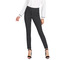 AnSoph Striped Skinny Pants Women Elastic Waist Pocket OL Style Work Trousers Mid Waist Pencil Pants one color m