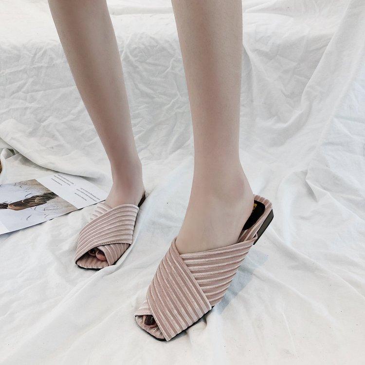 88b5f8696 ... Ladies Flat Sandal Casual Shoe Elegant Fashion Sandal pink 35  Product  No  10908840. Item specifics  Brand