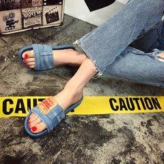 AnSoph 1 Pair Bow Sandal Women Ladies Flat Faux Suede Sandal Casual Shoe Beach Summer Flip Flop light 35