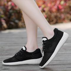 AnSoph 1 Pair Beathable Sneaker Women Ladies Hive Running Sport Shoe Summer Casual Shoe Comfortable black 40