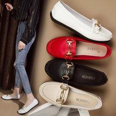 AnSoph 1 Pair Women Loafer Ladies Casual Shoe Comforatble Work Court Shoe black 35