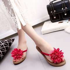 Pinky 1 Pair Women Bow Slippers Flat Sandals Summer Slip On Slides Brand Butterfly Loafers Shoes 1 36