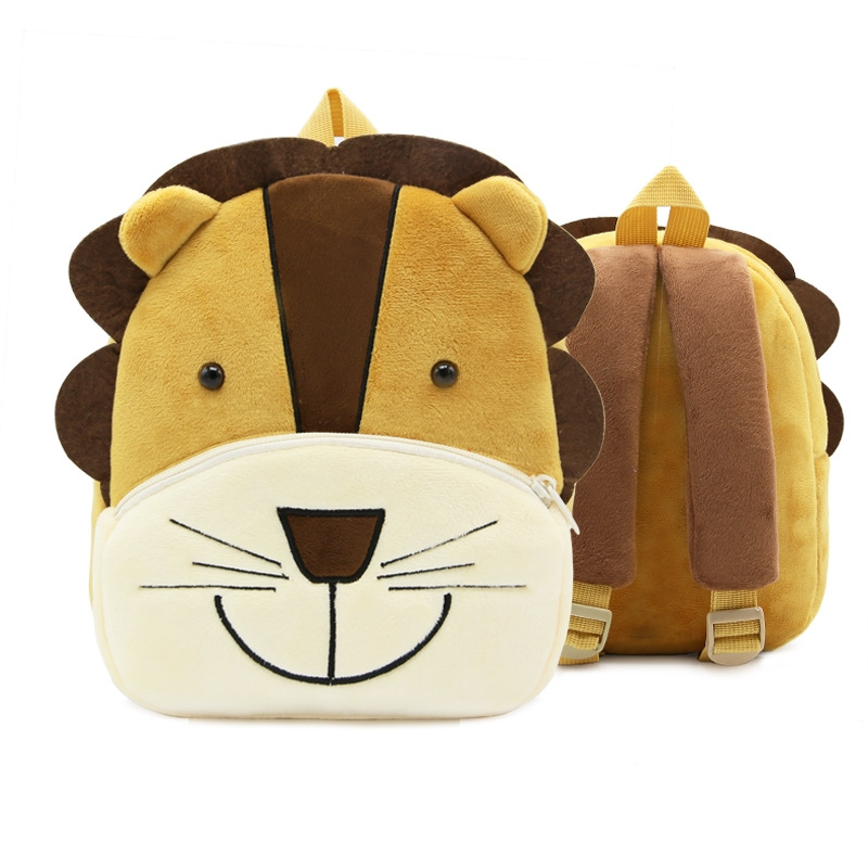 b73342cefa The number of shoulder straps  Double root. Have a pull rod  no style  Cute  cartoon. Model  ZOO pattern  Animal Type of accessories  Rope buckle