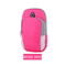 Bag For Phone On Hand Sports Running Armband Bag Mobile Phone Bags Holder Outdoor Sport Arm Pouch rose red one size