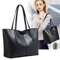 Fashion  Bags For Women 2018 Designer Luxury Handbags Women Shopper Bag Classic Women Shoulder Bag black one size