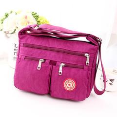Female Shoulder Bags Handbags Women Feminina Purse Nylon Crossbody Beach Bag Sac A Main Black Blue rose red one size