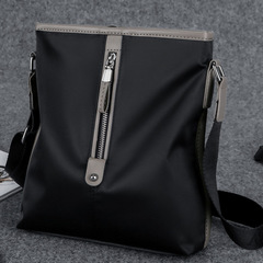 Men's Backpack Single Shoulder Bag Men's Crossbody Bag Waterproof Oxford Cloth Bag Business Backpack black one size