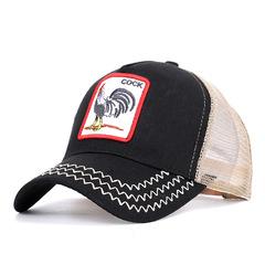 Baseball Cap Men Women Trucker Cap Hat Summer Breathable Mesh Dad Hat Hip Hop Men Caps black 54-60cm adjustable