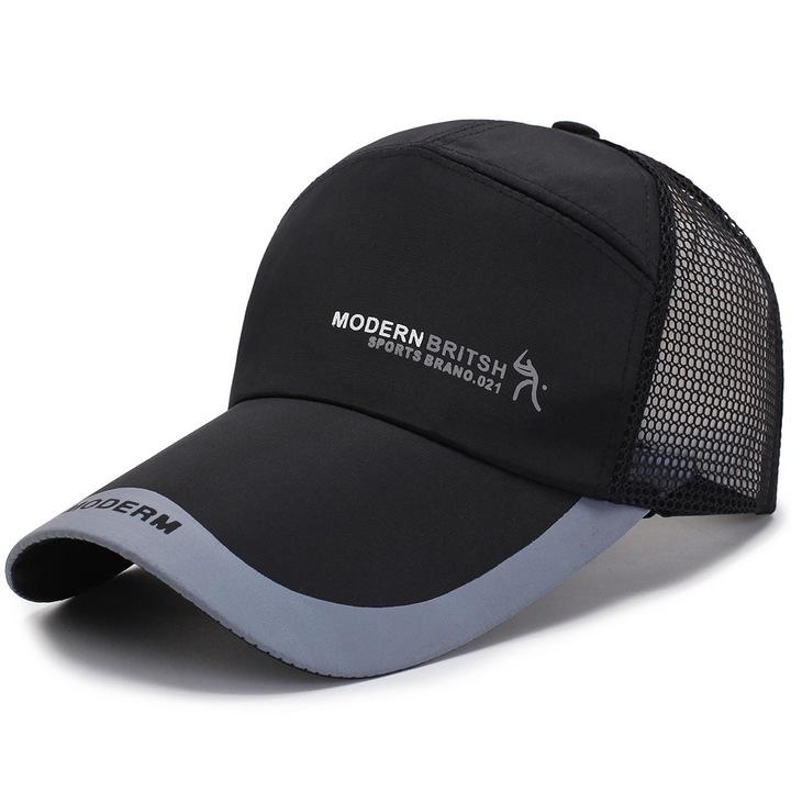 Brand New Cotton Mens Hat Youth Letter Print Unisex Women Men Hats Baseball Cap Snapback Caps black 56-60cm adjustable