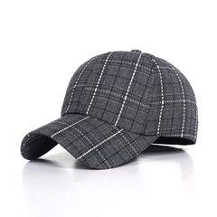 classic plaid baseball cap tennis golf sports caps for women men's hat 2019 autumn winter hats bone black