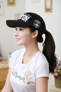 High Quality Baseball Cap Sun Hats Bone Ladys Spring Snapback Caps Summer Gorras Hip Hop Cap black