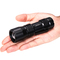 Waterpoof Super Bright Zoomable Pocket-Sized Mini LED Torch Flashlight Powered by 3AAA Batteries black industrial
